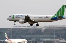 Ajusta aerolínea vietnamita Bamboo Airways planes de vuelos por tormenta Nakri