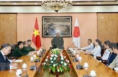Fortalecen nexos entre Vietnam y Japón en defensa