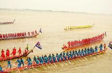 Nutrida participación en el Festival del Agua en Camboya