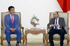 Destaca primer ministro de Vietnam cooperación financiera con grupo sudcoreano
