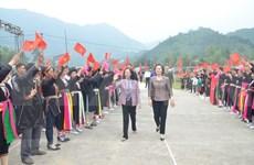 Participan dirigentes de Vietnam en festivales de unidad nacional