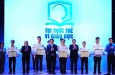 Honran en Vietnam a destacadas obras e iniciativas de desarrollo educacional