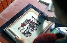 Pinturas folclóricas de Dong Ho, legado cultural de Vietnam