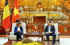 Impulsan cooperación entre Hanoi y provincia belga de Amberes
