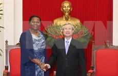 Prioriza Vietnam lazos con Mozambique, afirma alto funcionario del Partido