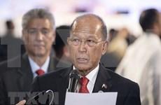 Propone ministro de Defensa levantar ley marcial en el sur de Filipinas