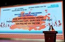 Impulsa Vietnam mayor incorporación de hombres en combate contra violencia de género