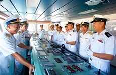 Realiza visita Vietnam un buque de la Armada de Myanmar
