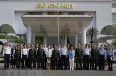 Visita delegación militar japonesa  a Comando de guardafronteras  de Vietnam