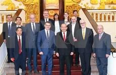 Proyectan profundizar la asociación entre Vietnam y Alemania