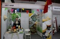 Impresionan productos vietnamitas en Feria Internacional de Alimentos en Indonesia