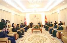 Camboya solicita  apoyo del Ministerio de Defensa de Vietnam en capacitación de personal