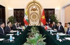 Realizan Vietnam y Myanmar la octava consulta política
