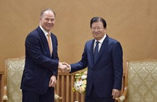 Respalda vicepremier de Vietnam cooperación energética con empresa estadounidense