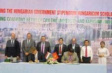 Ciudad vietnamita de Can Tho entabla cooperación con Hungría en educación