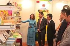 Presentan productos destacados de Vietnam en feria de comercio en la India