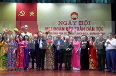 Asiste premier de Vietnam a festival de gran unidad nacional en Hanoi