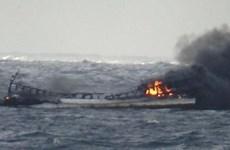 Acelera Corea del Sur rescate por incendio de barco con vietnamitas a bordo