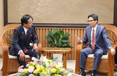 Destaca vicepremier de Vietnam importancia de cooperación con localidades japonesas