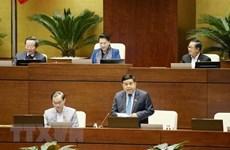 Centra Parlamento de Vietnam debates en proyecto de Ley de Inversión