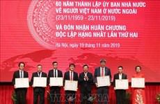 Honran a Comité Estatal de labores relativas a vietnamitas residentes en ultramar