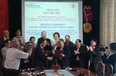 Asociaciones de Vietnam y Japón entablan cooperación en mitigación de secuelas de guerra