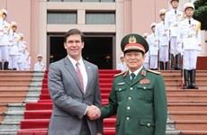 Visita Vietnam secretario de Defensa de Estados Unidos