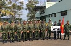 Participa Vietnam en torneo regional de tiro militar