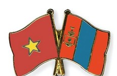 Dirigentes de Vietnam y de Mongolia celebran el aniversario 65 de los lazos binacionales