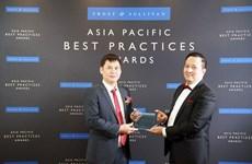 Honra a Viettel como mejor proveedor de servicios de datos móviles en Vietnam