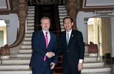 Promueven Ciudad Ho Chi Minh y República Checa cooperación en medio ambiente