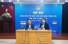 Efectuarán Foro Global de Jóvenes Intelectuales vietnamitas