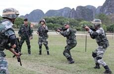 Participan cientos de soldados de la ASEAN ampliada en simulacro antiterrorista