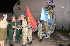 Regresan de Sudán del Sur misioneros vietnamitas de mantenimiento de la paz