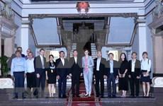 Promueve  Ciudad Ho Chi Minh inversiones de Austria en proyectos de desarrollo claves