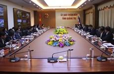 Provincias de Vietnam y Tailandia agilizan cooperación multifacética