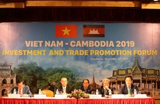 Nutrida participación en Foro de Promoción de Comercio Vietnam - Camboya 2019