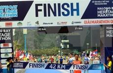 Nutrida participación en Maratón Internacional de Bahía de Ha Long