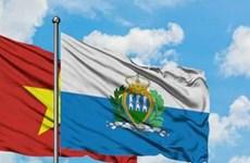 Proyectan Vietnam y San Marino aumentar cooperación en economía, cultura y turismo