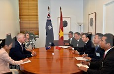 Reitera primer ministro de Australia compromiso con relaciones estratégicas con Vietnam
