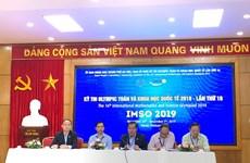 Celebran en Hanoi Olimpiada Internacional de Matemáticas y Ciencias