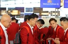 Parte representación de Vietnam que participará en Juegos Deportivos del Sudeste Asiático