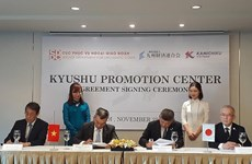 Establecerán en Vietnam centro de promoción comercial de región japonesa de Kyushu
