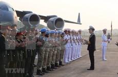 Parten oficiales vietnamitas hacia Sudán del Sur para operación de mantenimiento de la paz de ONU