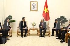 Vicepremier vietnamita recibe a gobernador de la prefectura japonesa de Ibaraki