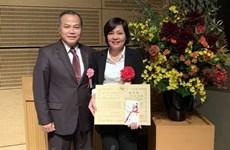 Honran en Japón a científica vietnamita por descubrimento sobre diarrea epidémica porcina