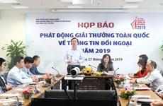 Convoca Vietnam a Premio Nacional de Información para el Exterior