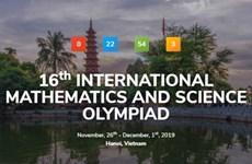 Celebran por primera vez en Hanoi Olimpiada Internacional de Matemáticas y Ciencias