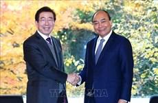 Efectúa primer ministro de Vietnam reunión con alcalde de Seúl