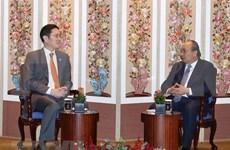 Recibe primer ministro de Vietnam a chaeboles sudcoreanos